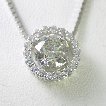 ダイヤモンド ネックレス プラチナ 2.0ct